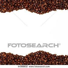 coffee beans border clipart. Perfect Coffee Stock Photo  Coffee Bean Border Fotosearch Search Photography  Print Pictures On Beans Border Clipart