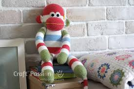 Sock Monkey Pattern Adorable Sock Monkey Free Sewing Pattern Craft Passion