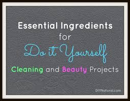 essential ings for diy cleaning