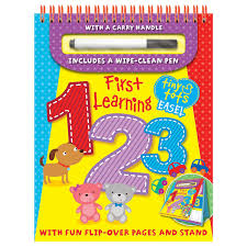 Small Picture First Learning Tiny Tots Easel 123 Early Learning Books