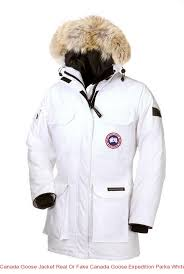 Canada Goose Jacket Real Or Fake Canada Goose Expedition Parka White For  Women