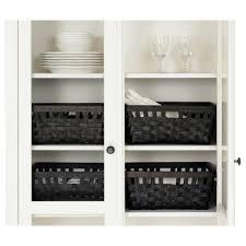 world class hemnes glass door cabinet hemnes cabinet with panel glass door white stain x cm