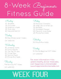 week four workout plan 2