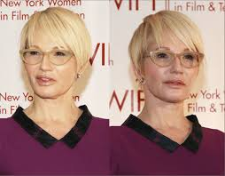 27 Short Hairstyles For Over 60 Years Old With Glasses Hairstyles