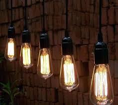 edison bulb pendant lighting light fixture home depot industrial hanging brushed nickel