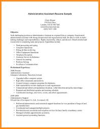 7 Sample Resumes For Office Assistant Azzurra Castle Grenada