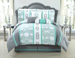 quatrefoil bedding gray and mint bedding grey and mint bedding picture ideas piece queen comforter set