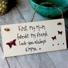 first my mum forever my friend personalised erfly plaque mum giftsgifts for your mrandma giftsmothers day