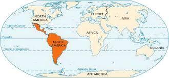 Latin America On World Map Barca Fontanacountryinn Com