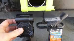 jeep wrangler tj hopkins trailer wireing harness install in rear rh you com 2003 jeep wrangler trailer wiring harness installation 06 jeep liberty wire
