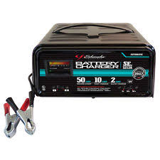 schumacher battery charger schumacher battery charger portable 12v 10 2 50 amp automatic