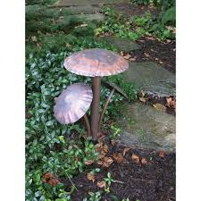 Hadco Lighting Products Garden Art 3 Mushroom Pathlight Garden Art Path Lights