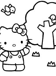 Coloring pages hello kitty pdf, cute easy printable colouring pages for girls, birthday party activity, kids activity home, instant download. Hello Kitty Coloring Page Color Hello Kitty All Kids Network