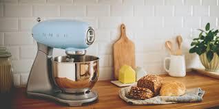 Colourful Kitchen Appliances Smeg Stand Mixer Smf01 Pastel Blue Madeinitaly Kitchen