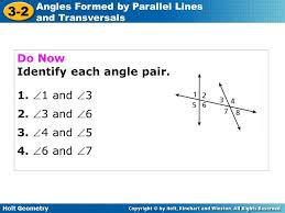 Angles formed by Parallel Lines and Transversals Worksheet 3 1 ...