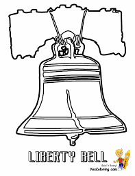 Liberty Bell Coloring Page Printable - Coloring Home