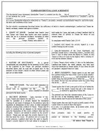 Residential Lease Contract Free Residential Lease Agreement Template Pdf