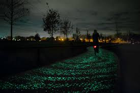 Glow In The Dark Trees To Replace Street Lights Glow In The Dark Roads Replace Street Lights In Netherlands