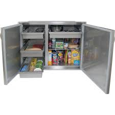 alfresco 30 x 33 inch high profile sealed dry storage pantry adsp2 30h