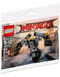 LEGO The Ninjago Movie 30379 Quake Mech (Polybag) - JB-Bricks