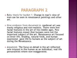 essential question how did the renaissance change man s view of  7 paragraph