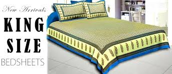 jaipur bedding set printed king size bed sheets fabric l sized echo design jaipur