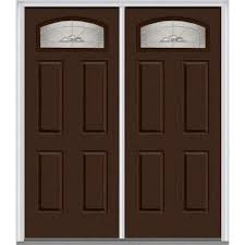 Perfect Double Front Doors 60 In X 80 Master Nouveau Lefthand 14 Intended Beautiful Ideas