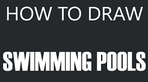 above ground swimming pool drawing. How To Draw A Swimming Pool - Above Ground Drawing (Circle Pool) O