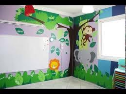 classroom wall decor dubai sticker wall decal decoration kids classroom jungle theme creative