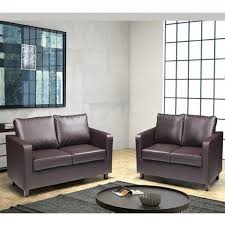brown leather sofa sets. Delighful Leather EEF Retail MiniMax 32 Sofa Set And Brown Leather Sets E