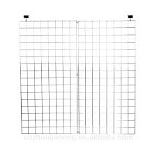 wall grid customized chrome welded wire mesh grid wall panel grid wire mesh wall wall grid
