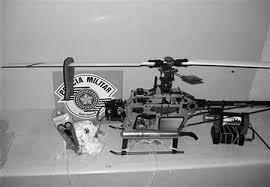 巴西警方挫败玩具犯罪罪犯企图用遥控玩具飞机将手机送进监狱新闻中心