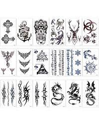 Amazonit Tatuaggi Temporanei Bellezza