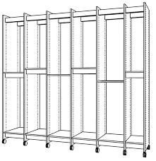 art storage rack has adjule shelves for storing any size art
