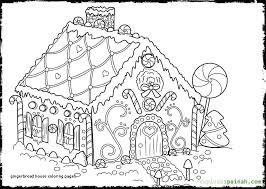 13 Unique Gingerbread House Coloring Pages Coloring Page
