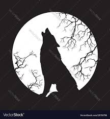wolf howling at the moon. Beautiful Wolf On Wolf Howling At The Moon