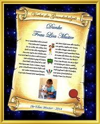 Abschied Grundschule Urkunde Als Danksagung