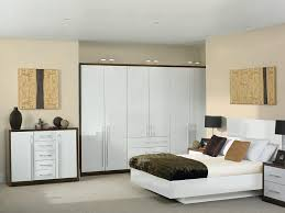 bedroom furniture fitted. Bella Venice High Gloss White Dark Walnut Fitted Bedroom Furniture