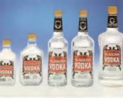 nutrition facts of vodka