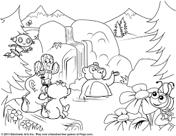 Small Picture Free Pogo Coloring Pages