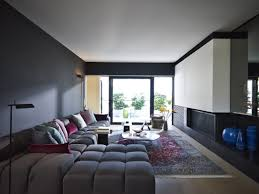Living Room Design Apartment Apartment Modern Black Theme Apartment Living Room Apartment