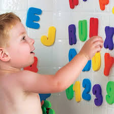 1 bath letters and numbers by munchkin 5