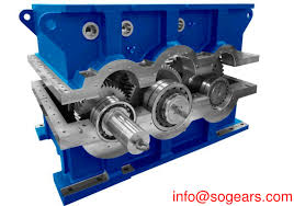 Speed Reduction Gearbox Design Helical Gearbox