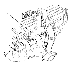 how to replace bank 2 knock sensor on 1999 buick regal 3 8 not o2 sensor wiring diagram chevy at 1998 Lesabre O2 Sensor Wiring Diagram