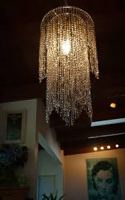 topaz layered chandelier lamp shade