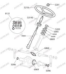 Steering box side seal tractor parts tractor spares gm power steering box diagram more views steering
