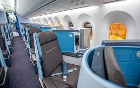 business class seats on klms 787 dreamliner photo klm atlanta tel aviv business