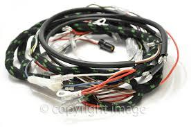 triumph bonneville t100 t120 tr6 wiring harness 1969 70 uk triumph bonneville t100 t120 tr6 wiring harness 1969 70 uk made