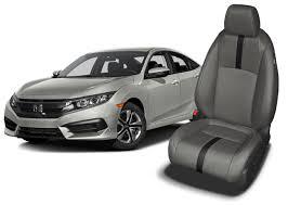 honda civic seat covers leather seats
