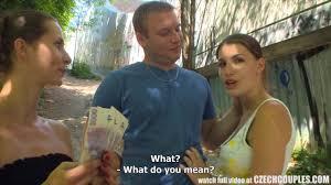 Czehch couples outdoor for money